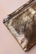 Small Crossbody Bag - Gold / Olive