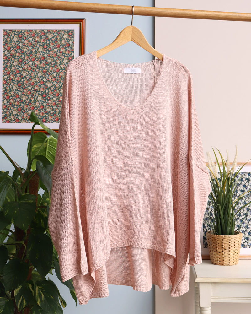 Lisa Jumper - Pale Pink