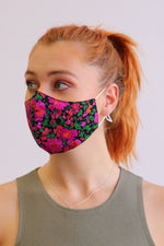 Lottie Floral Facemask - Multi - Ollie & Nic