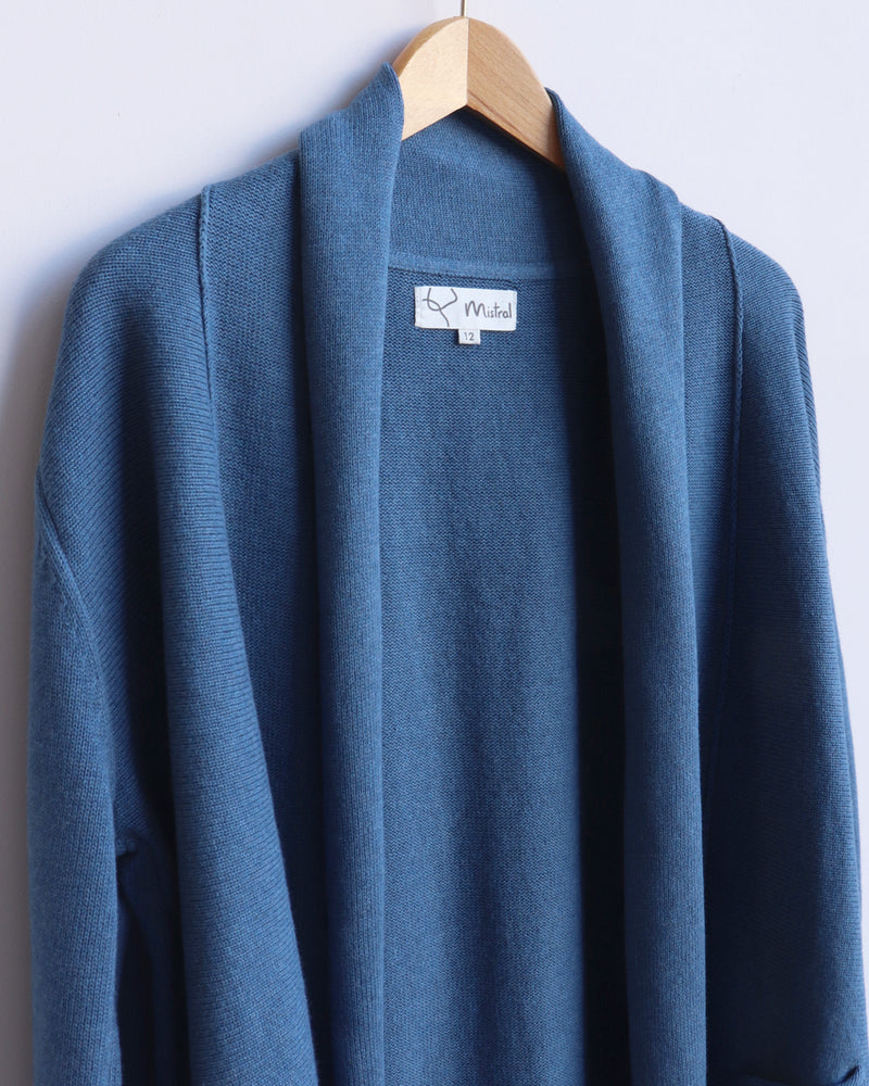 Load image into Gallery viewer, Chloe Open Front Cardigan - Dark Blue