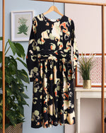 Melato Dress - Black Multi
