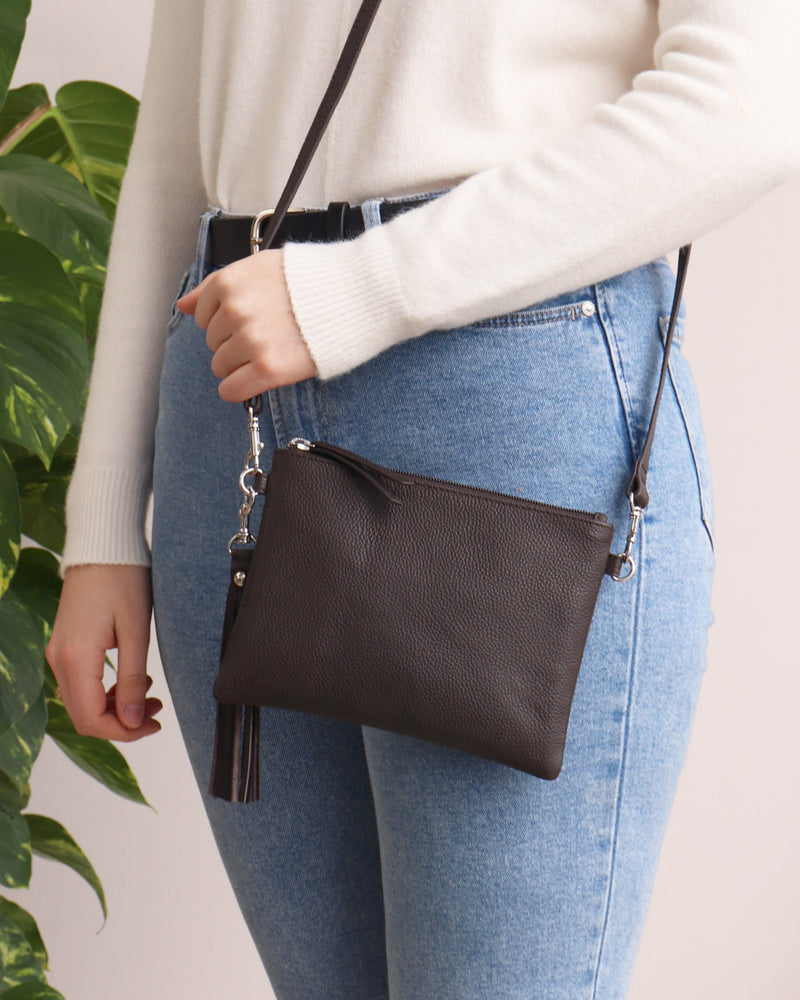 Load image into Gallery viewer, Hetty Crossbody - Chocolate