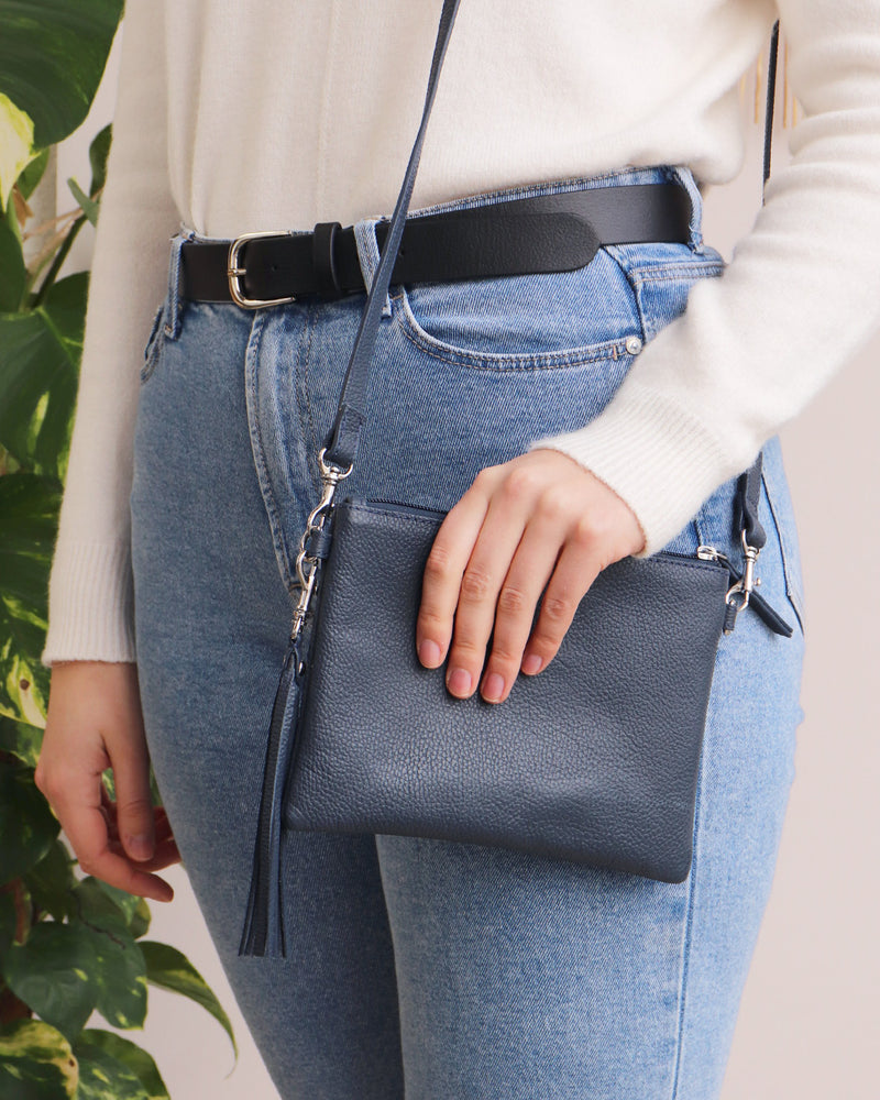 Hetty Crossbody - Navy