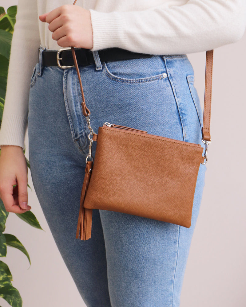Hetty Crossbody - Tan