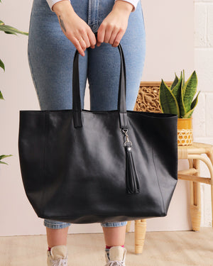 Load image into Gallery viewer, Olivia Tote - Black