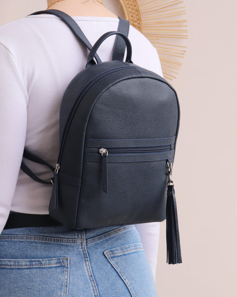 Load image into Gallery viewer, Sophie Backpack - Navy