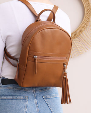 Load image into Gallery viewer, Sophie Backpack - Tan