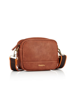 Load image into Gallery viewer, Nina Multi Strap Crossbody - Tan