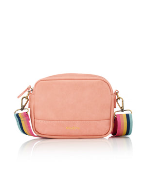 Load image into Gallery viewer, Nina Multi Strap Crossbody - Peach
