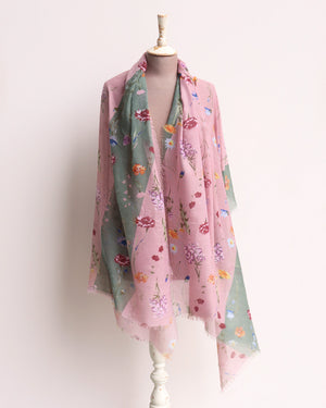 Load image into Gallery viewer, Monty Meadow Flowers Scarf - Multi