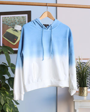 Load image into Gallery viewer, Orla Ombre Hoodie - Blue