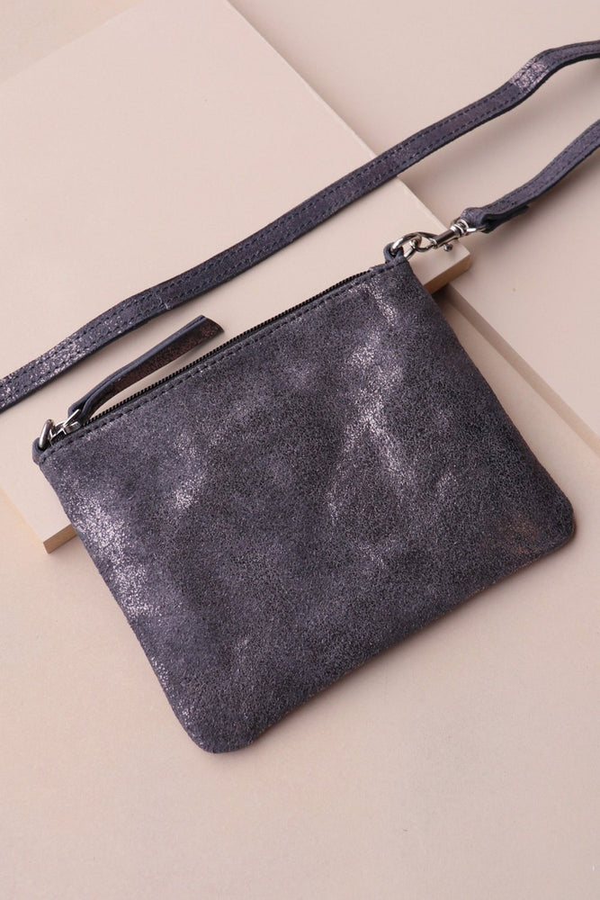 Crossbody Pouch - Pewter