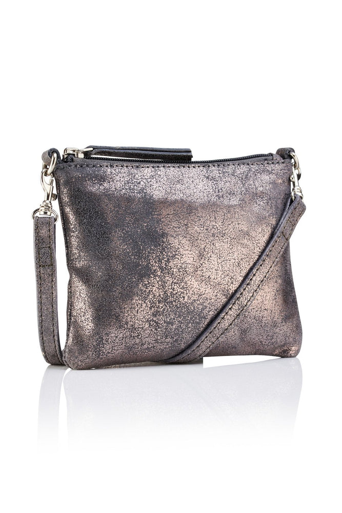Crossbody Pouch - Pewter - Ollie & Nic