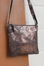Large Crossbody Bag - Pewter