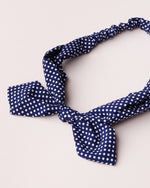 Dotty Print Bandeau - Navy