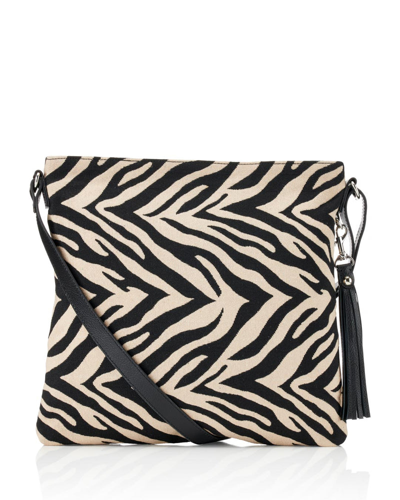 Load image into Gallery viewer, Rosa Crossbody - Zebra
