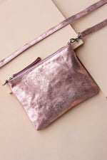 Crossbody Pouch - Rose Gold