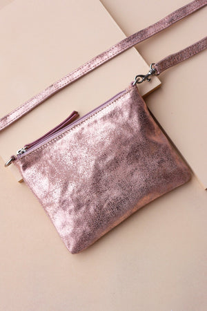 Crossbody Pouch - Rose Gold - Ollie & Nic
