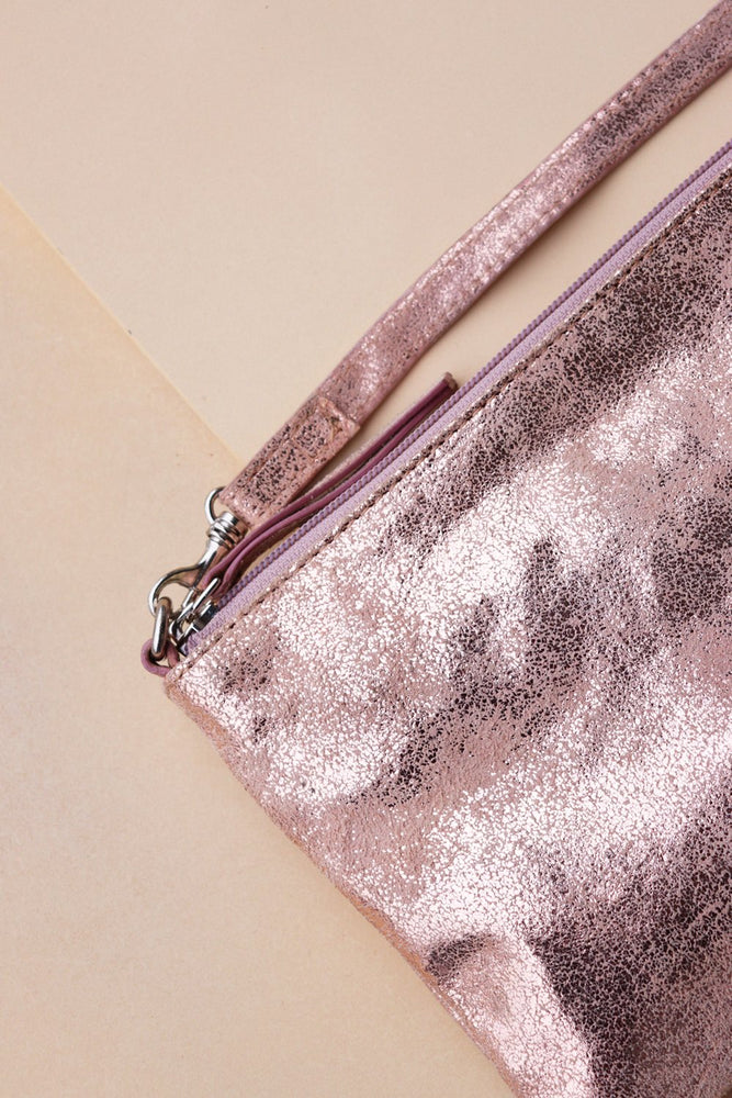 Small Crossbody Bag - Rose Gold - Ollie & Nic