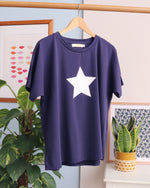 Taylor Star Top - Navy