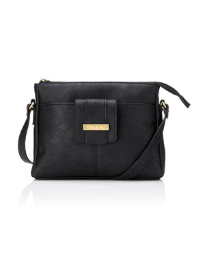 Load image into Gallery viewer, Stevie Crossbody - Black - Ollie & Nic
