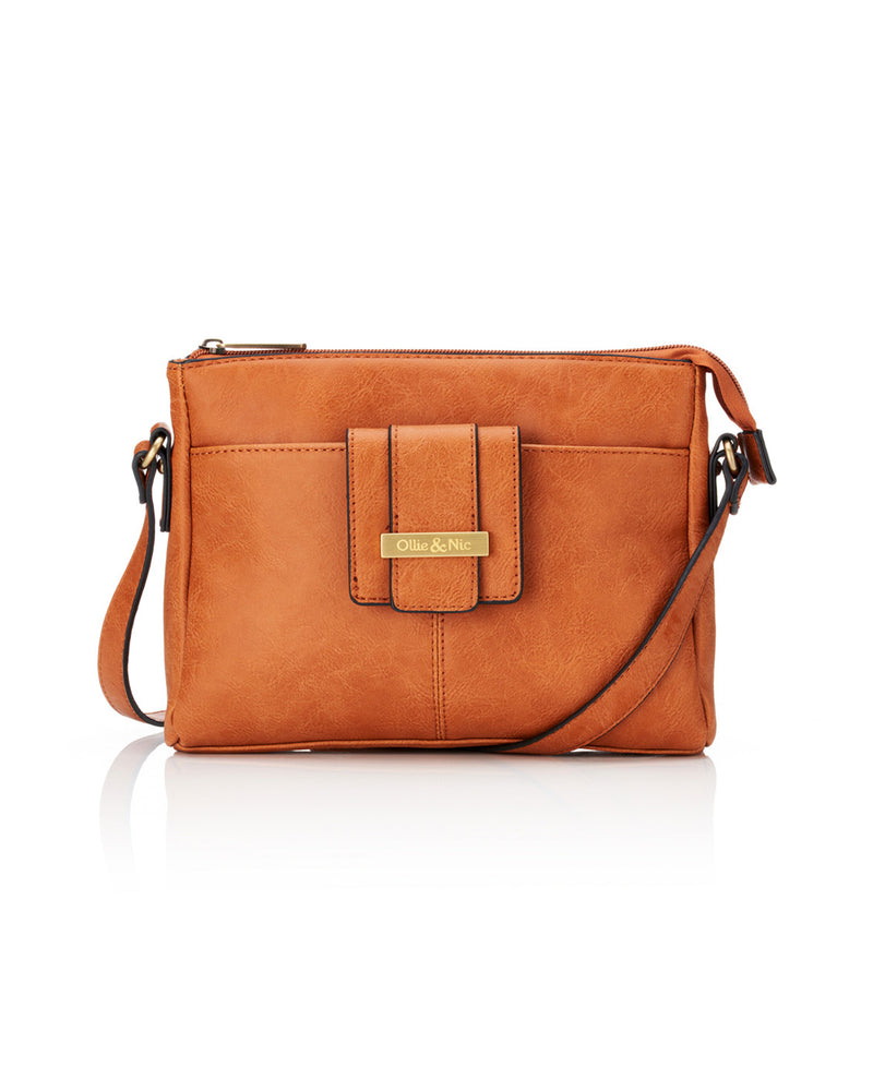 Stevie Crossbody - Tan - Ollie & Nic