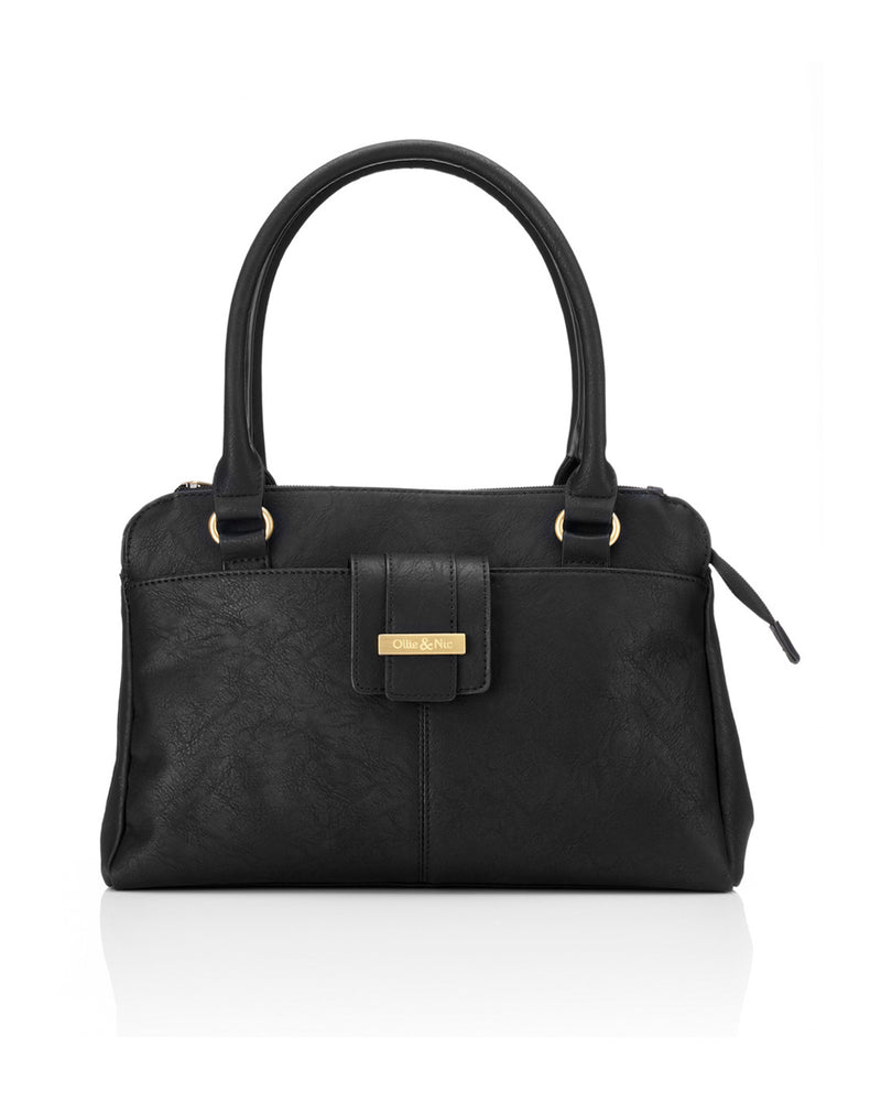 Stevie Shoulder Bag - Black - Ollie & Nic