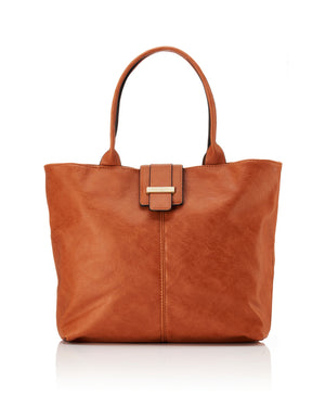 Stevie Work Tote - Tan - Ollie & Nic