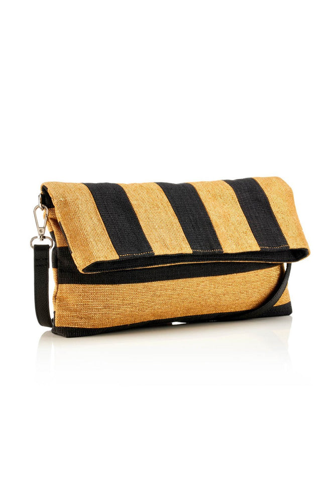 Clutch / Crossbody - Striped - Ollie & Nic
