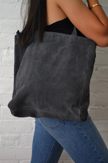 Hill + How - Tote Bag - Grey