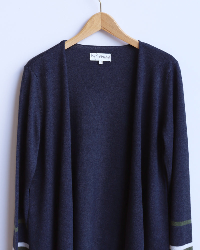 Load image into Gallery viewer, Carol Cardigan - Navy