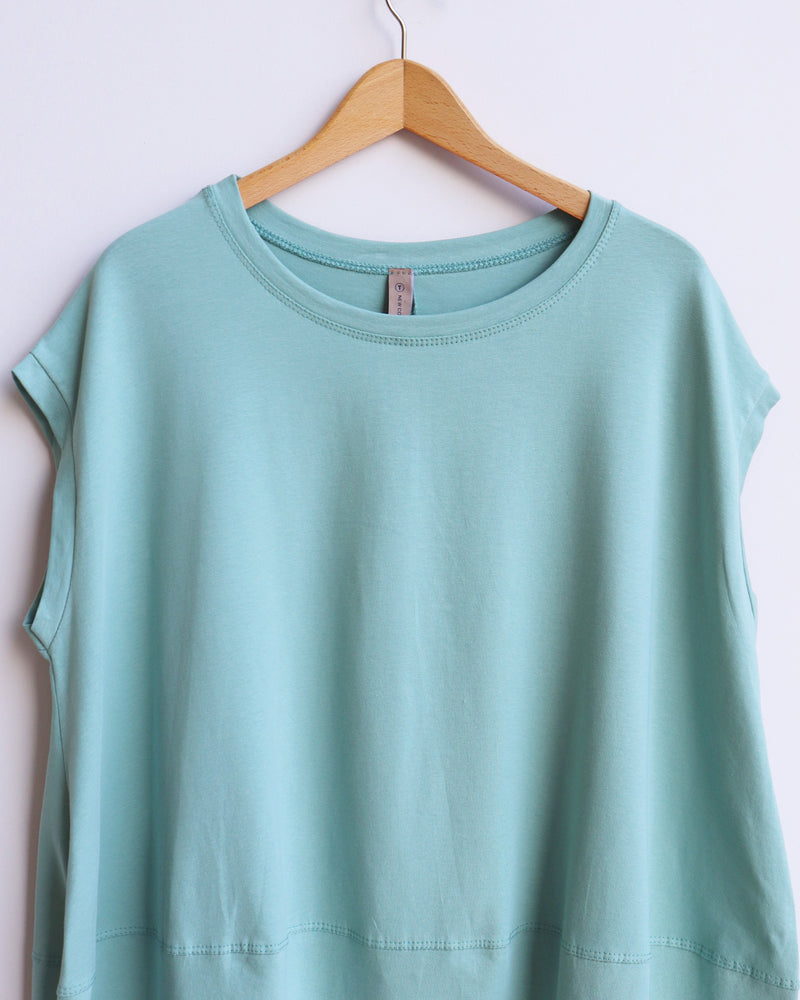 Marie Tunic Top - Mint