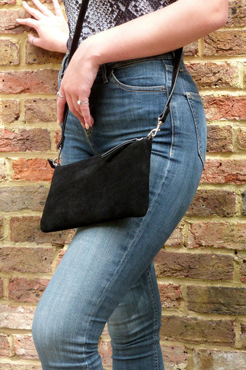 Hill + How - Small Cross Body Bag - Black