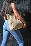 Hill + How - Tote Bag - Mink