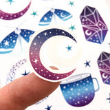 Celestial sticker sheet / vinyl stickers