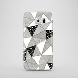 Pattern Triangles mobile phone case