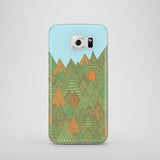 Autumn Forest iPhone case, Samsung Galaxy case