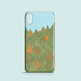 Autumn Forest iPhone X case