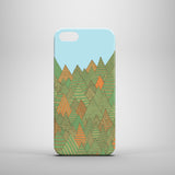 Autumn Forest iPhone SE case