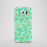 Berries and Mint mobile phone case