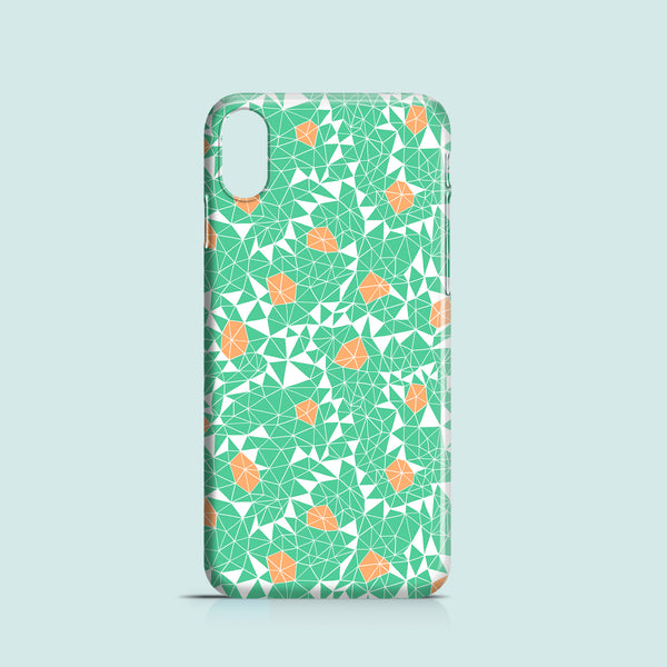 Berries and Mint iPhone case, Samsung Galaxy case