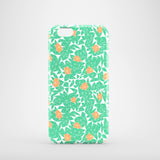 Mint and berries iPhone 6S case