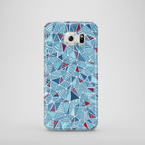 Blue Diamonds mobile phone case