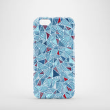 Blue Diamonds iPhone 8 case