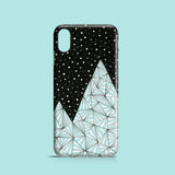 Blue Mountain iPhone case, Samsung Galaxy case