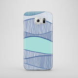 Blue waves Samsung case