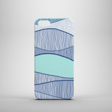 Blue Waves iPhone SE case