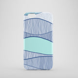 Blue waves iPhone 7 case