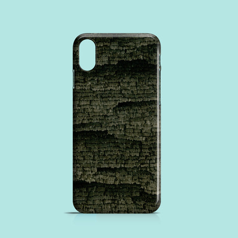 Black night iPhone XS case