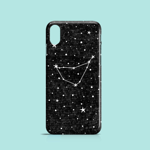Capricorn iPhone case, Samsung Galaxy case / Zodiac phone case